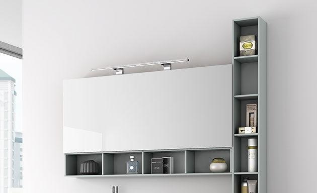 Espejos camerinos iluminacion apliques ba o muebles de - Iluminacion para espejos de bano ...
