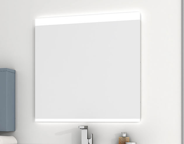 espejo con iluminación para baño